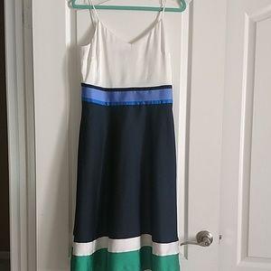 NWOT Banana Republic Color Block dress
